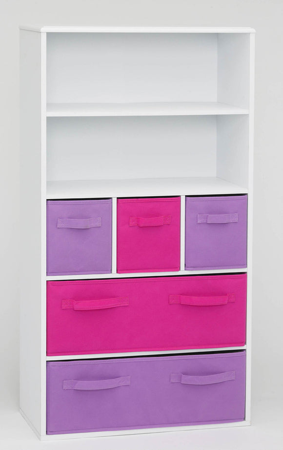 Girl's Storage Bookcase