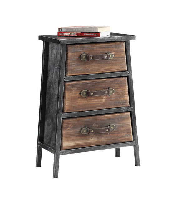 Urban Loft 3 Drawer Chest