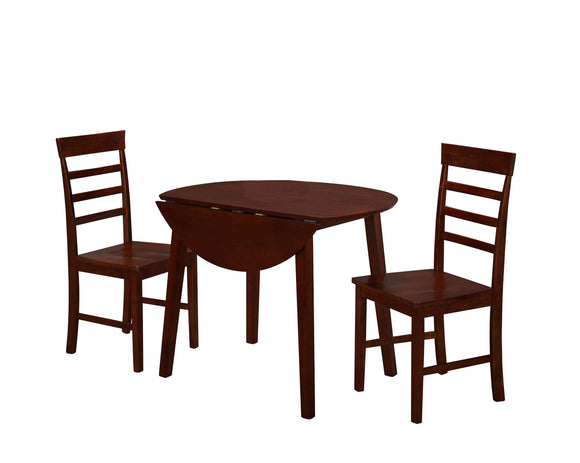 Horizon Dining Table with Two Chairs
