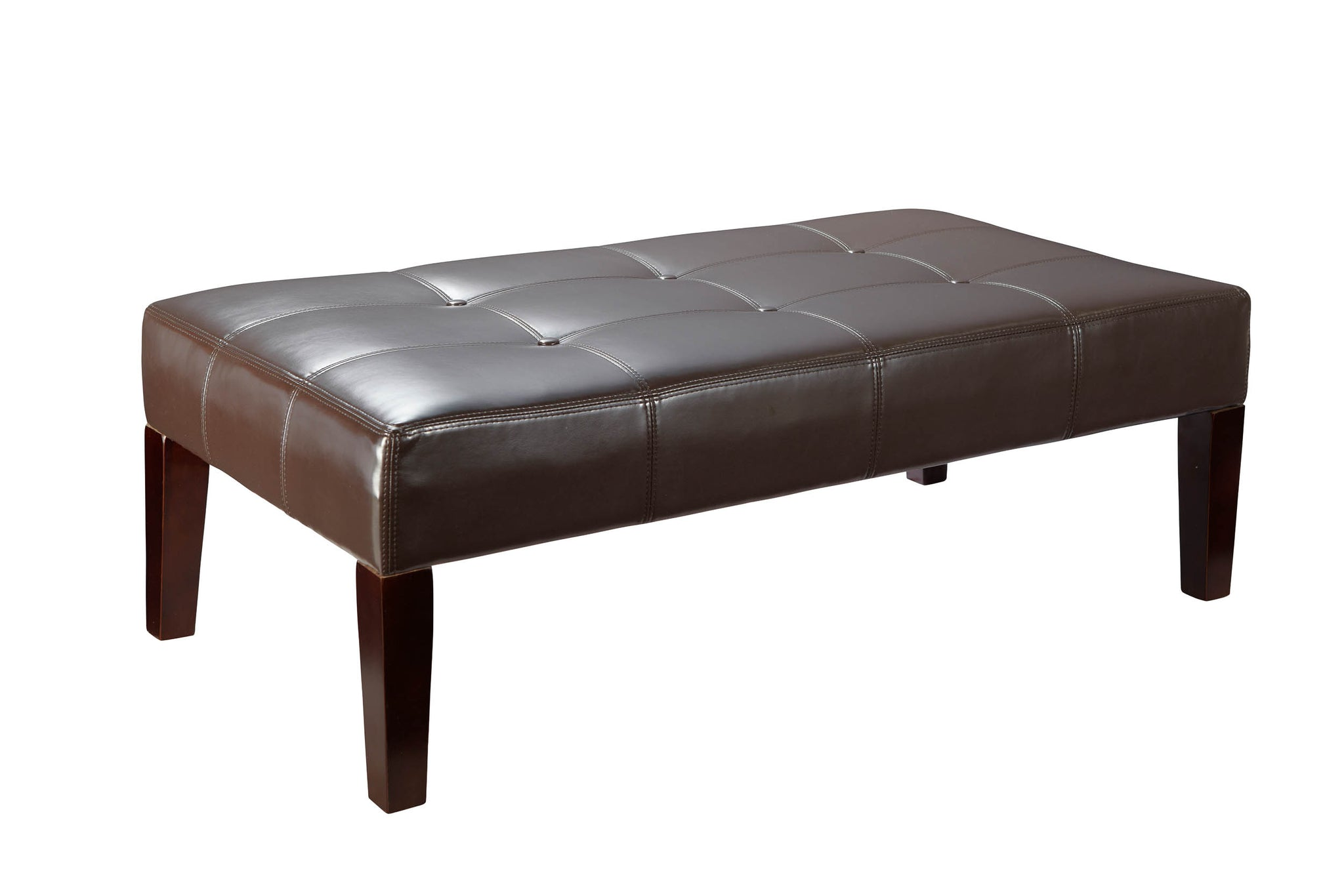 table ottoman modern living charming idea for rectangular room ikea coffee leather your black tufed decor