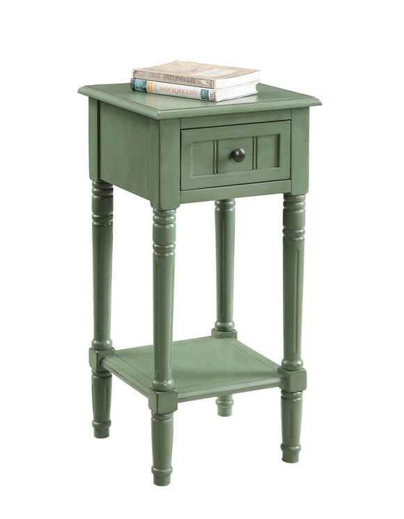 Green Simplicity End Table