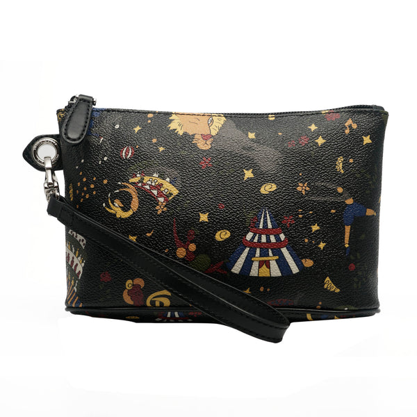 Wristlet Cosmetic Case Black