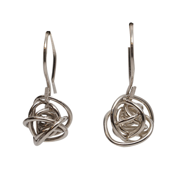 Love Knot Drop Earrings