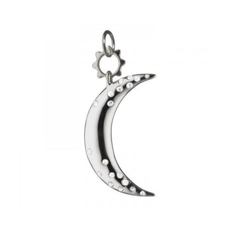 Monica Rich Kosann Large Cresent Moon Charm
