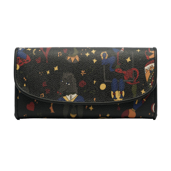 Moon Flap Wallet