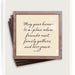 May Your Home Copper & Glass Coasters, Set of 4