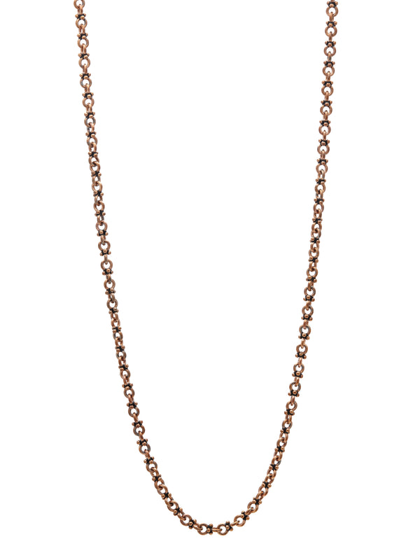 John Varvatos Artisinal Bronze Link Necklace
