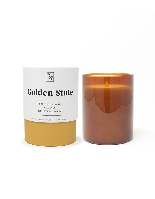 Botanica Golden State 7.5 oz Candle