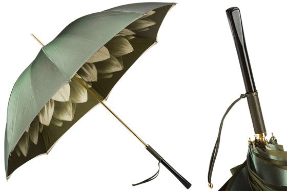 Green Dahlia Umbrella