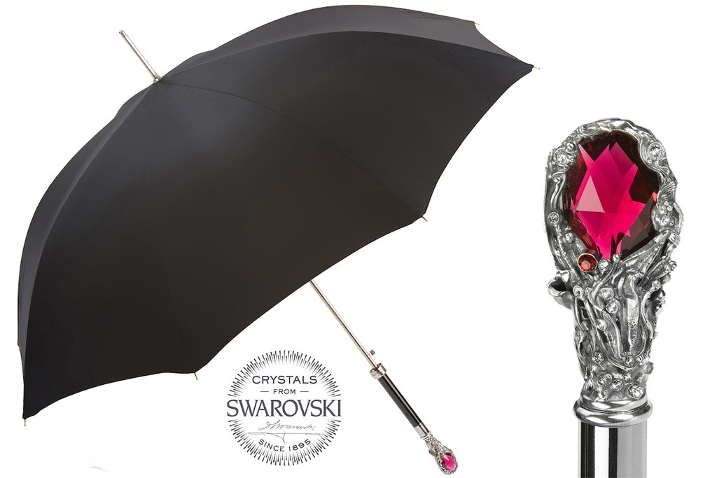 Luxury Red Gem Umbrella