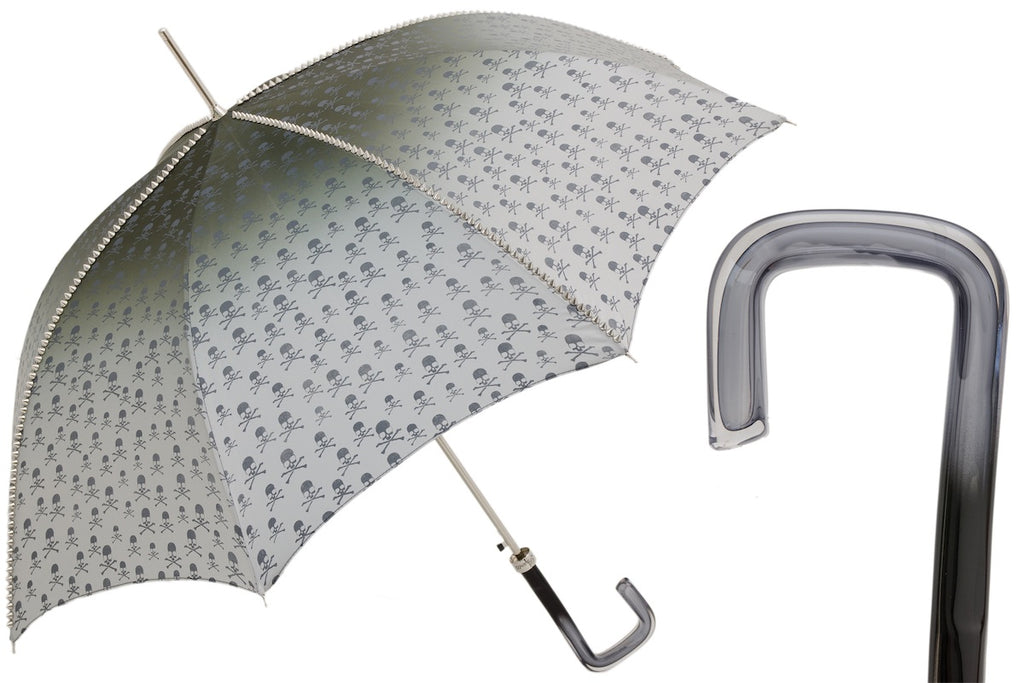 Studded Grey Umbrella
