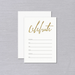 Gold Celebrate Fill-In Invitation