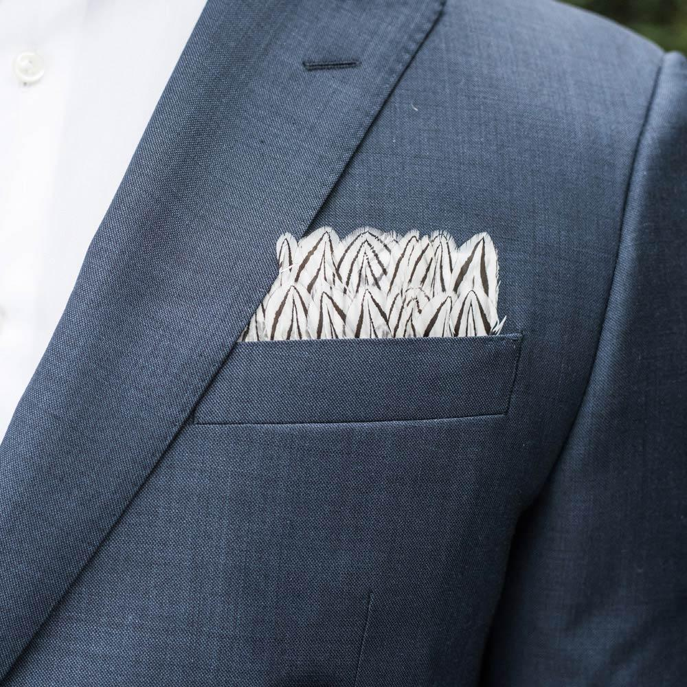 "Brackish ""Blythe"" Pocket Square"