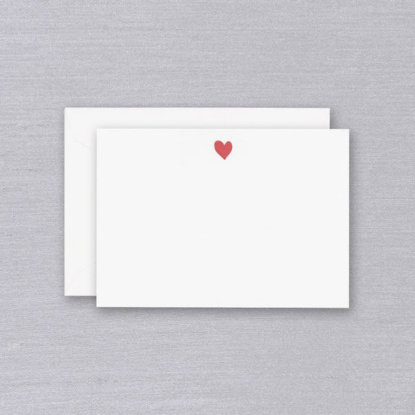 Letterpress Sweet Heart Card