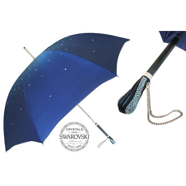Blue Crystal Umbrella