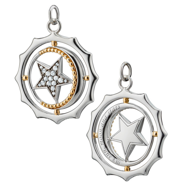 "Monica Rich Kosann ""My Sun, Moon and Stars"" Charm"