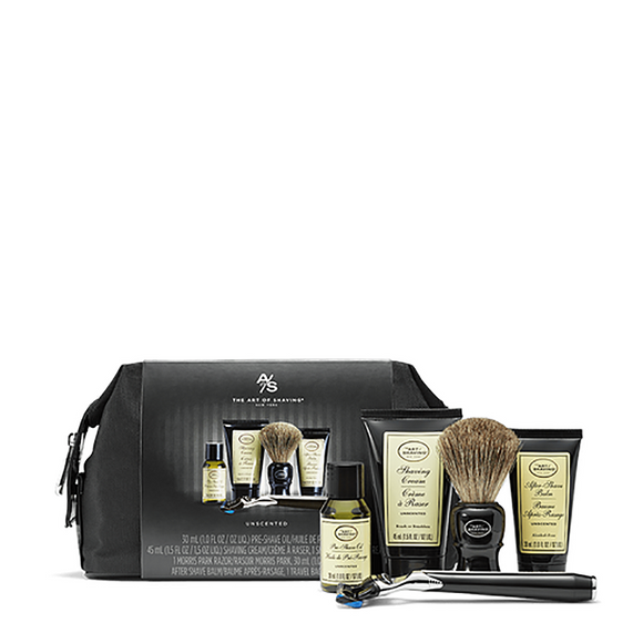 The Art Of Shaving Travel Kit & Razor - Unscented