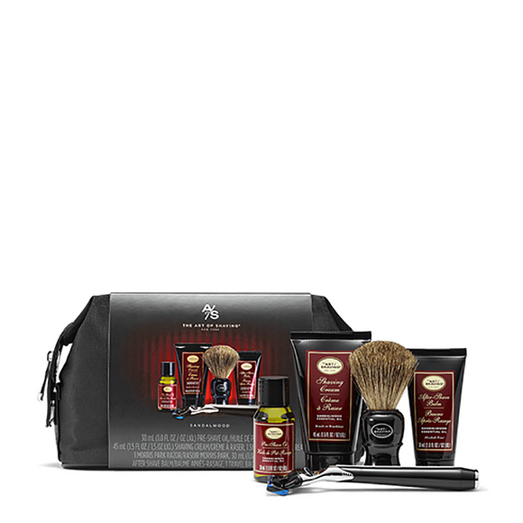 The Art Of Shaving Travel Kit & Razor - Sandalwood