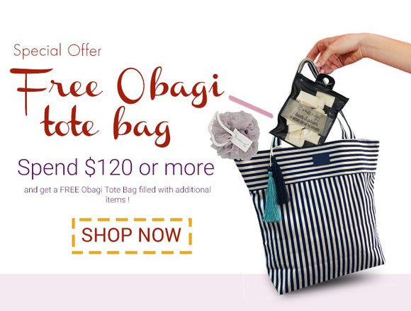 Obagi Tote With Beauty Accessories