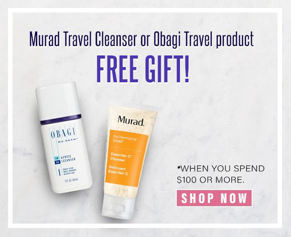 Free Travel Size Obagi or Murad Product