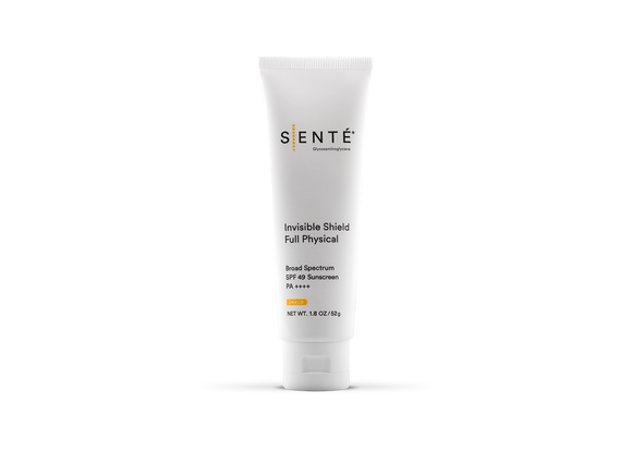 SENTE Invisible Shield Full Physical Broad Spectrum SPF 49 Sunscreen