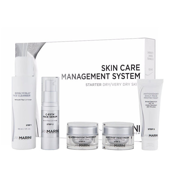 Jan Marini Starter Skin Care Management System - Dry/Very Dry