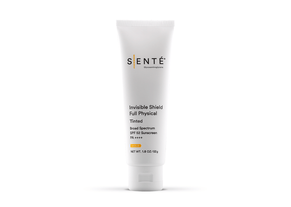 SENTE Invisible Shield Full Physical Tinted Broad Spectrum SPF 52 Sunscreen