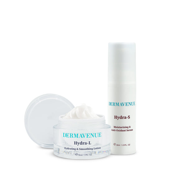 Dermavenue Hydra S & Hydra L DAY & NIGHT Bundle