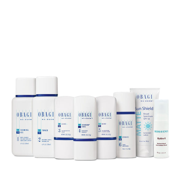 Obagi Nu-Derm Fx System (Normal to Oily) Plus Hydra-S - SHIPS MID DECEMBER
