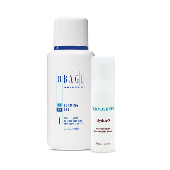Obagi Nu-Derm Foaming Gel Plus Hydra-S