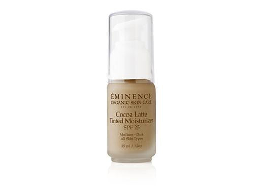 Eminence Cocoa Latte Tinted Moisturizer SPF 25 (medium to dark)