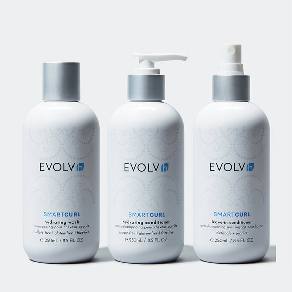 EVOLVh Healthy Curls Trio