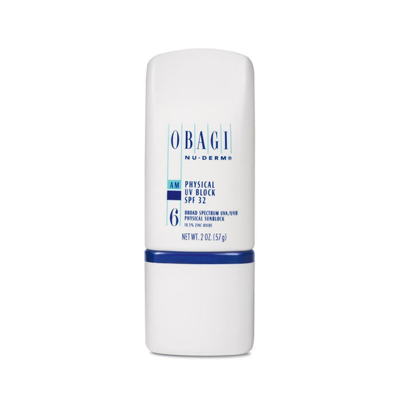 Obagi Nu-Derm Physical UV Block SPF 32 #6 (2.0oz)