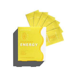 Patchology Little Helper Supplement Strips: Energy - 6 Pack
