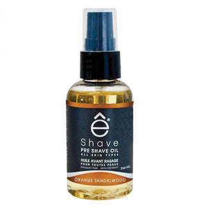 eShave Pre Shave Oil Orange Sandalwood (2 oz)