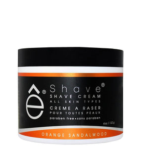 eShave Shaving Cream Orange Sandalwood (4 oz)