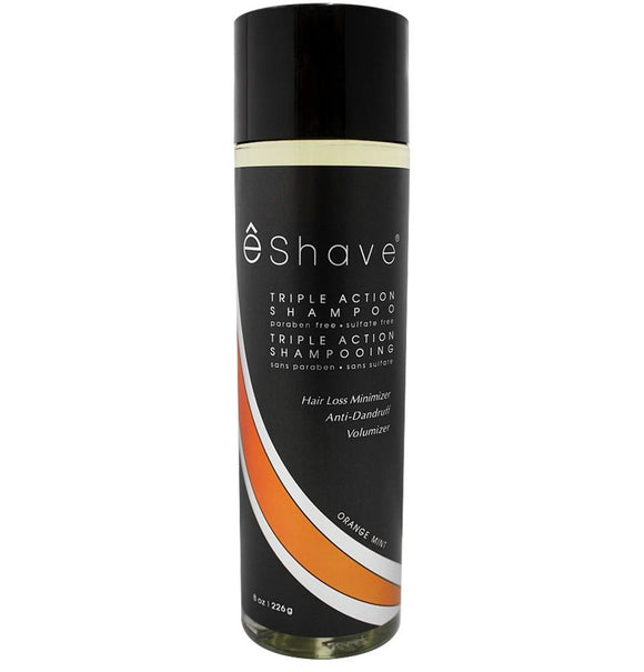 eShave Triple Action Shampoo Orange Mint (8 oz)