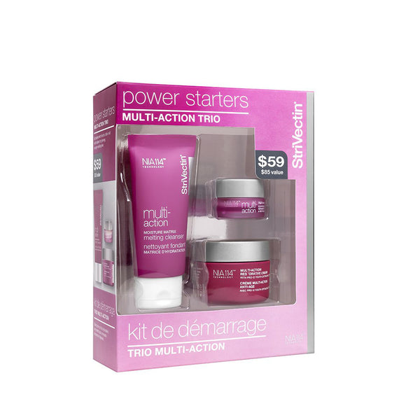 StriVectin Power Starters Multi-Action Trio