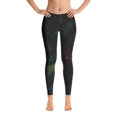 Wearable Art Leggings : Araña