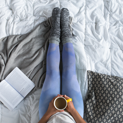 Wearable Art Leggings : In-Between Days
