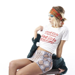 Graphic T-Shirt : Bad Girls Go Backstage