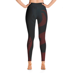 Wearable Art Leggings : Firebrand