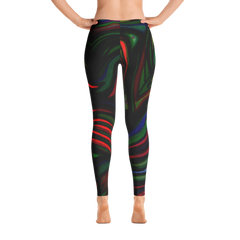 Wearable Art Leggings : Vortex