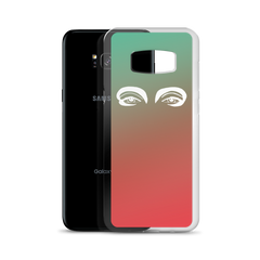 Samsung Case : Orange/Green Ombré