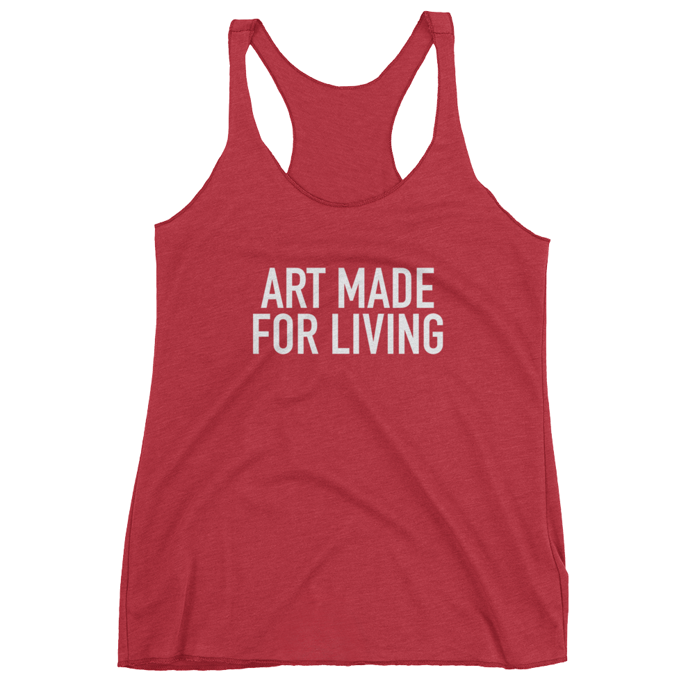 Graphic Racerback : Art Made For Living #2