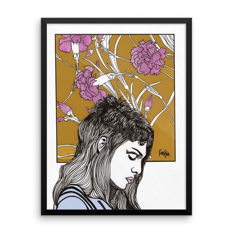 Framed Art Print : Roxanne