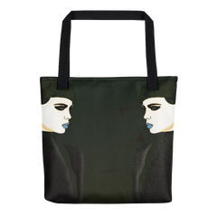 Tote : Night Shift / Dark Green