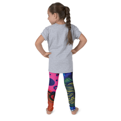 Wearable Art Kids Leggings : Wonderland