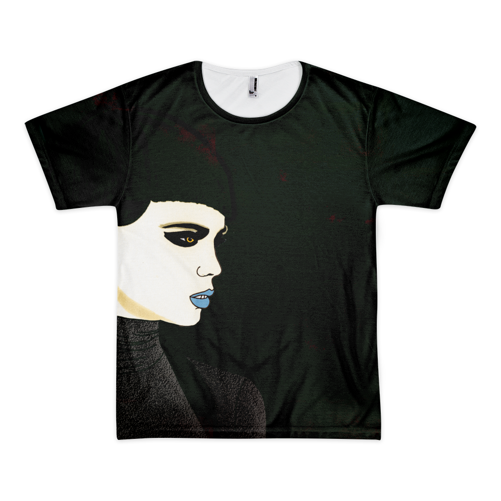 All Over Graphic T-Shirt : Night Shift