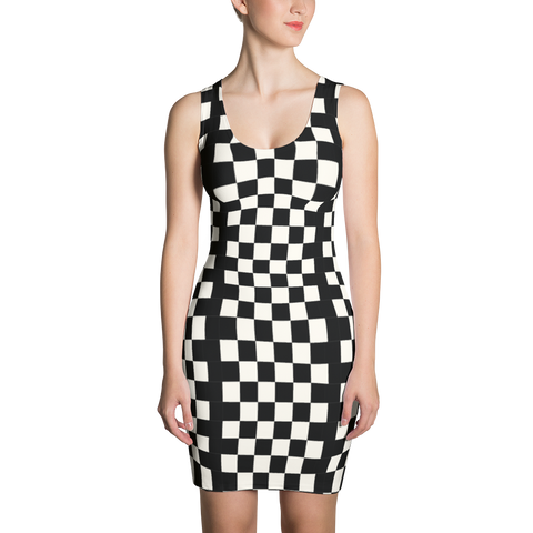 Wearable Art Dress : Checkmate